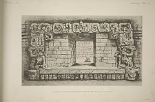Restoration of the doorway leading to the inner chamber of temple.