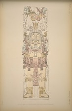 Stela D. (Pages 45-47). Drawn & partly restored from photographs