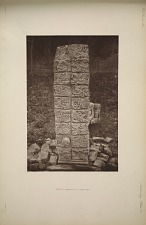 Stela D (Pages 45-47) Back View.