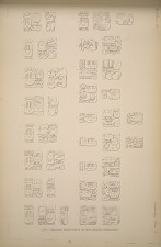 Stela J. (Page 53 & 54) Inscriptions on the sides  arranged in paragraphs