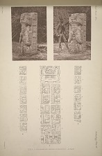 Stela 1. Photographs and drawings of inscription, see page 66.