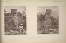 Stela 6. Front and back view, see Plate 107 and Page 67.