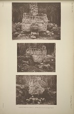 Altar in front of Stela F. See Plates 50-51 and 114, and pages 48 & 69.