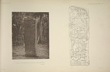Stela C. Photograph and drawing of the north face. See page 9.