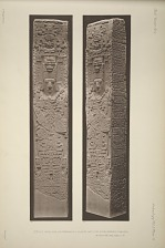 Stela E. North face, photographs of a plaster cast in the South Kensington Museum. See Plate 29a and pages 11-12.