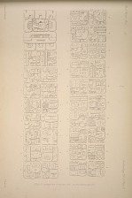 Stela E. Inscription of the east side, See Plate 29b and pages 11-12.