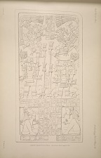 Ixkun. Drawing of Stela. See Plate 68 & Pages 21-22.