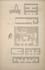 Plans of houses and temples