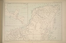 Map of Yucatan and the country to the south of it.
