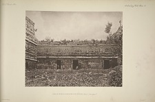 Casa de Monjas, northern face of wingk, Plate 3, See page 17.