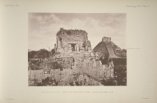 The great ball court. Temple A and part of the east wall. See Plate 27 and Pages 25-30.