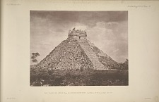 The castillo. (No 15, Plate 2), looking south-east. See Plates 55-59 and Pages 35-36.
