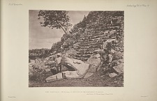 The castillo (No. 15, Plate 2). The foot of the northern stairway. See Plates 55-59, and Pages 7-9 and 35-36.