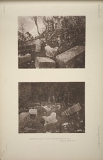 Temple No. 18 (Plate 60). Views on the western terrace. See Pages 34 and 38, 39.