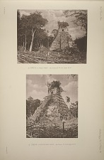(a) Temple A, west front. See Plates 69-74 and Pages 44-47. (b) Temple A, south-west angle, See Plates 69-74 & Pages 44-47.