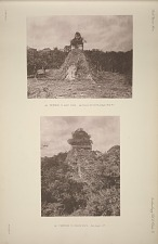 (a) Temple C, east face, see Plates 69, 77 & 78 & Pages 45 & 47. (b) Temple D, north face, See page 47.