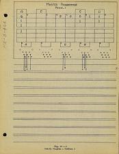 Fig. 10-6. Set-up diagram - problem 1. Master programmer panel 1. PX-8-404