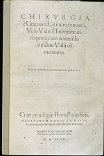 Chirurgia e Graeco Latinum conuersa