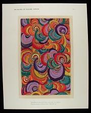 Velours multicolore pour manteau de theatre / Theatre wrap in Multicolour VELVET