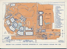 p. 12: Ground Plan Louisiana Purchase Exposition St. Louis Missiouri Worlds Fair 1904