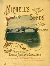Michell's Highest Quality Seeds.