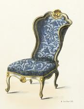 Fauteuil et Chaise Cabriolet (Louis XV)
