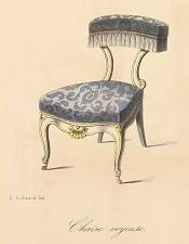 Chaise voyeuse.