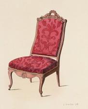 Fauteuil et Chaise de Salon.