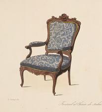 Fauteuil et Chaise de salon (Louis XV)