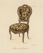Chaise de boudoir.