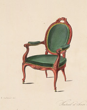 Fauteuil et Chaise Médaillon.