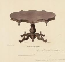 Table ovale de canapé.