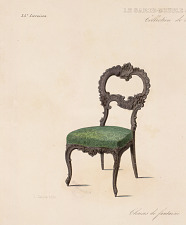 Chaises de fantaisie (Genre Louis XV).