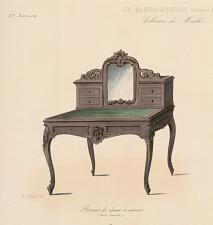 Bureau de dame à miroir (Genre Louis XV)