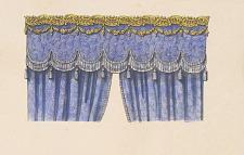 Croisées simples avec Galeries en estampé et velours.