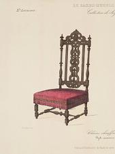 Chaises chauffeuses. Style renaissance.