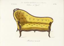 Méridienne. Genre Louis XV.