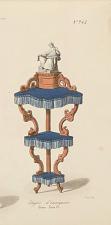 Etagère d'encoignure Genre Louis XV.