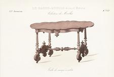 Table de canapé à volets.