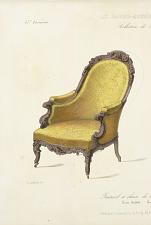 Fauteuil et Chaise de chambre à coucher