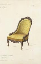 Fauteuil et Chaise de chambre à coucher.