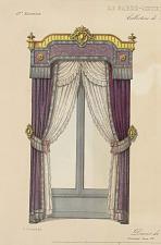 Décors de croisée. Ornement Louis XV.