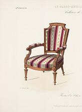 Fauteuil et Chaise. Style Louis XVI