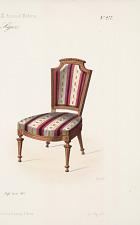 Fauteuil et Chaise. Style Louis XVI.