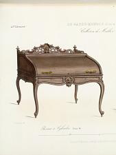 Bureau à cylindre. Louis XV