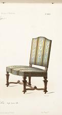 Fauteuil et Chaise de Salon. Style Louis XIV.