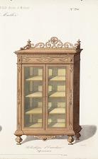 Bibliothèque d'Entredeux Style renaissance.