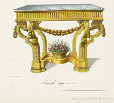 Console Style Louis XVI.