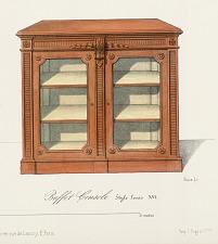 Buffet Console Style Louis XVI.