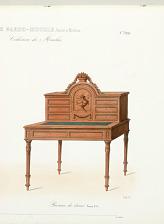 Bureau de dame. Louis XVI.